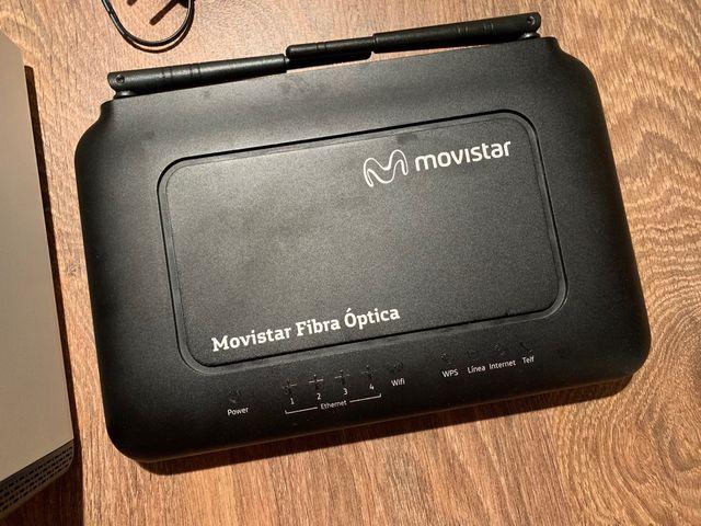 Router y equipos Movistar