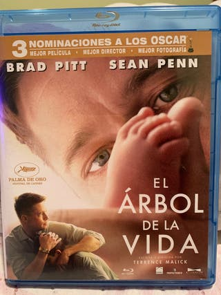 El árbol de la vida Blu-Ray Brad Pitt