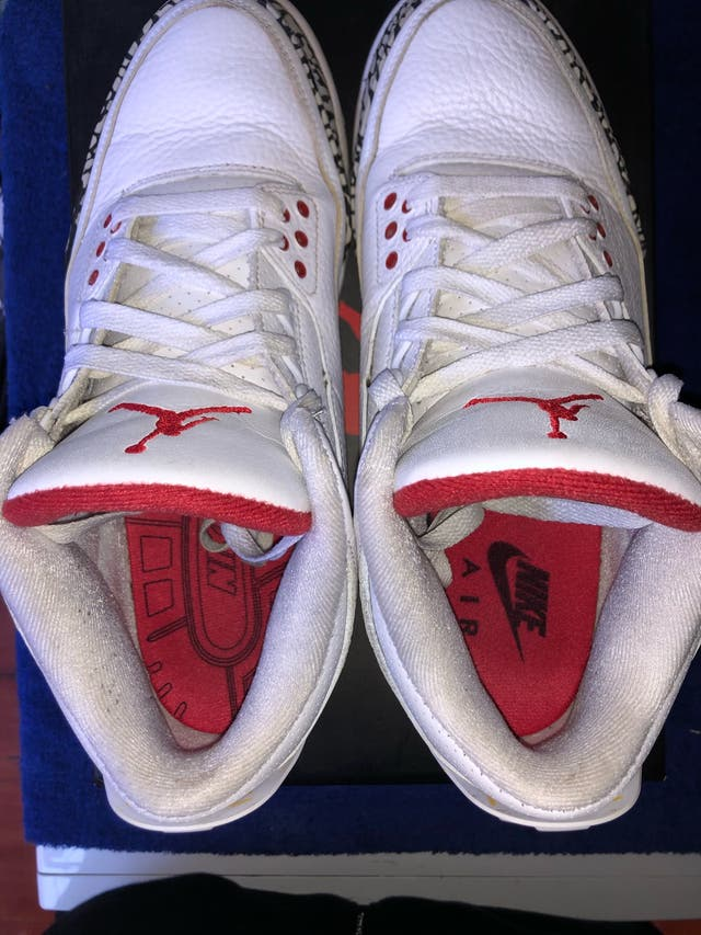Air Jordan Retro 3 (42,5) White cement NRG 2018