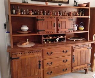 mueble tirolés aparador madera maciza