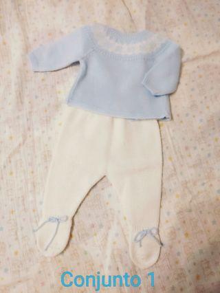 Ropa bebé niño - primera puesta