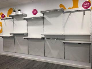 Mueble cremallera con accesorios para tienda x6