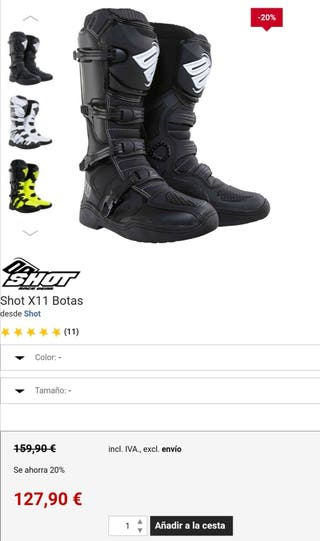 botas quad, cross, enduro,talla 43