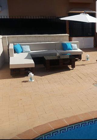 Sofa esquinero palet
