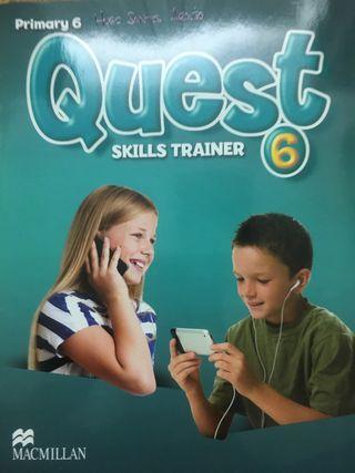 Libro ingles sexto primaria quest skills trainer