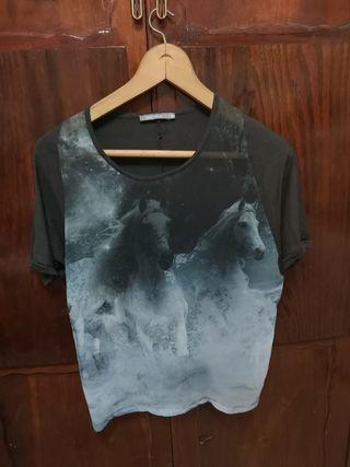 Camiseta transparencia M