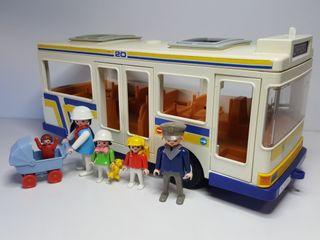 Estacion Autobus Bus Playmobil 3782 Chofer Parada