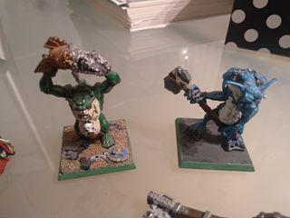 Trolls orcos Warhammer