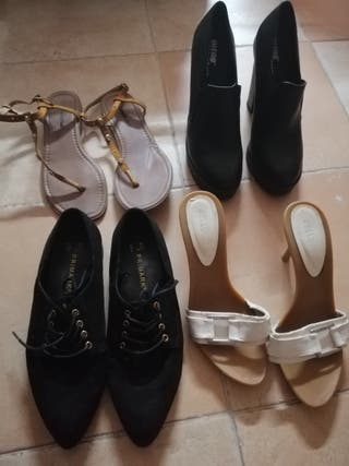 Lote de Zapatos Chica