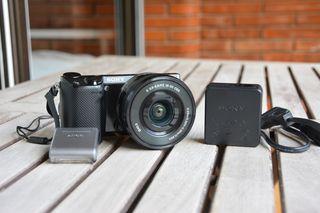 Camara Sony Nex5R+Objetivo 16-50mm OSS