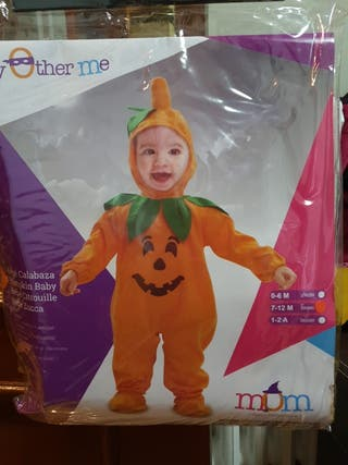 Disfraz de bebé calabaza