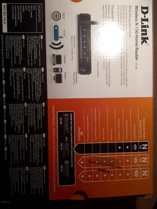 Router D-Link Wireless N150 Home Router DIR-600