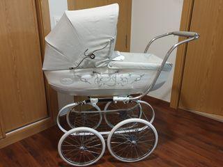 carro bebé inglesina clásica 2x1 capazo y silla.