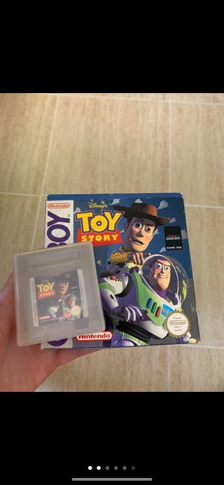 Juego toy story game boy