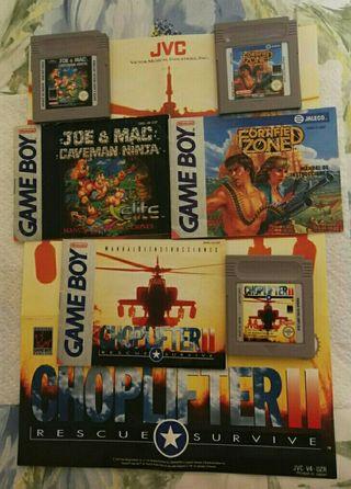pack de juegos Game boy