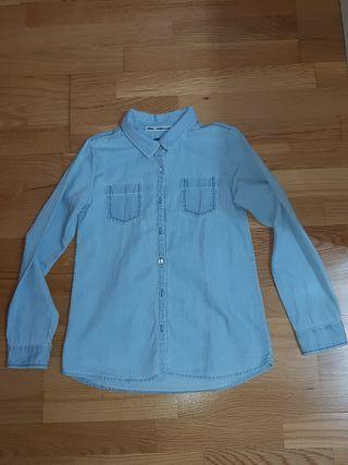 Camisa estilo vaquero. talla 10 años
