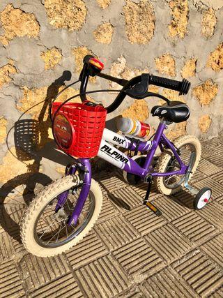 "Bicicleta BMX Alpina de 16"""