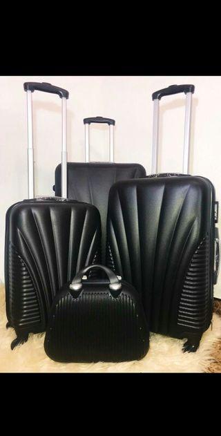 conjunto maletas + neceser // Juego 4 nuevas