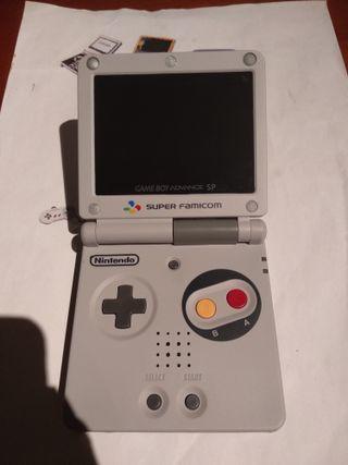 Consola nintendo gameboy advance sp SNES IPS