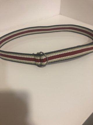 cinturón de loneta tricolor Talla U