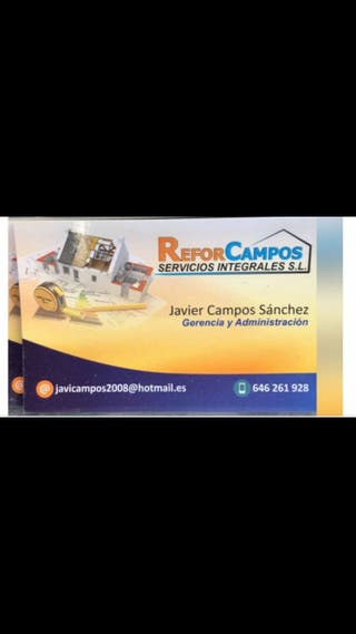 Albañilería Javier 646 261 928