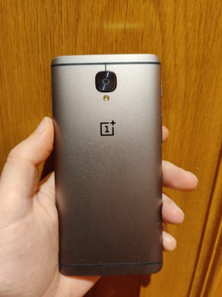 Oneplus 3T 6+64GB con Android 9