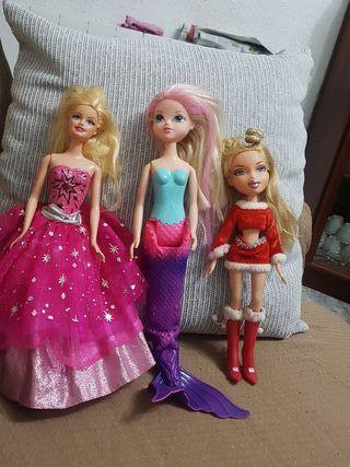 Lote muñecas barbie