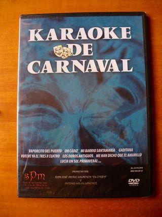 Karaoke de Carnaval Volumen 1 (DVD Slim Precintad)