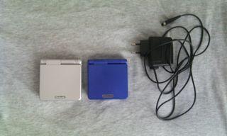 2 Game Boy Advance SP, juegos Pokemon y cable Link
