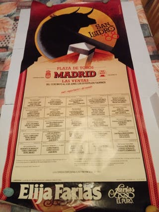 Cartel taurino San Isidro 1988