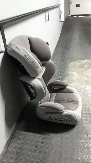 silla de coche grupo 2-3 con isofix