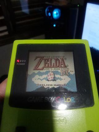 Te legend of Zelda link awakaning DX game boy