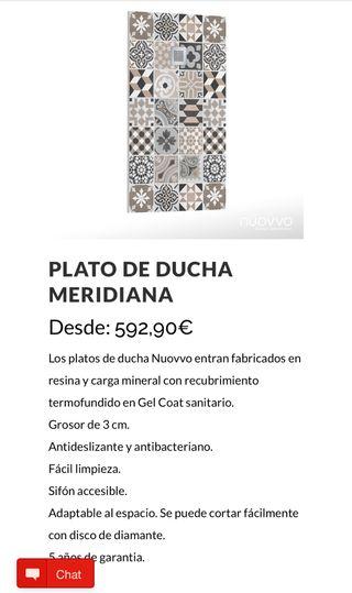 Plato ducha de diseño