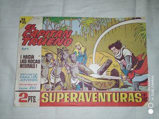 El Capitan Trueno original numero 493