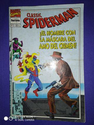 COMICS Nº 15 SPIDERMAN