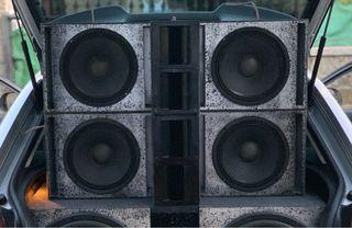 """Altavoces 10"""" Car Audio"""