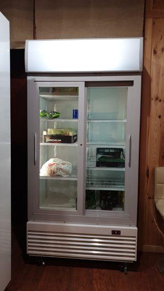 Armario, cámara, vitrina expositora refrigerada