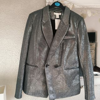 chaqueta plata