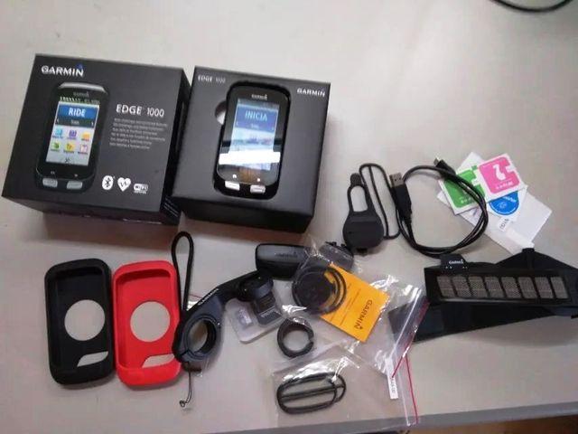 Garmin Edge 1000 Pack comleto (3 sensores)