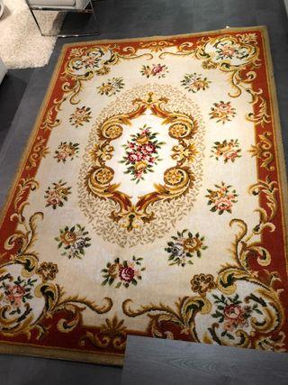 Preciosa alfombra de Lana