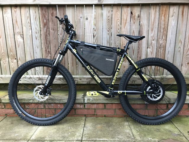KiloVolt Omega Mk3 Electric Bike E-Mtb