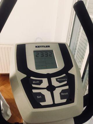 Elíptica Kettler como nueva