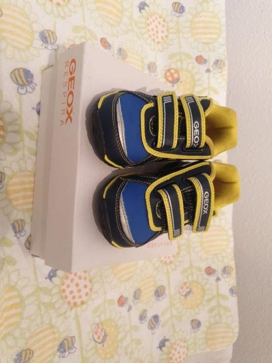 zapatillas geox respira n23 niño