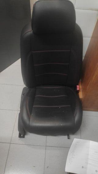 asiento copiloto coche