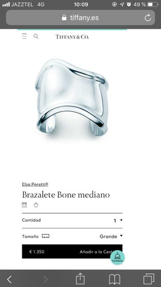 Tiffany & co brazalete bone