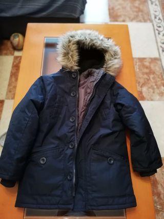 abrigo niño 8 años