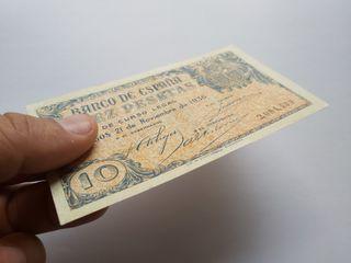 10 pesetas 1936 Burgos