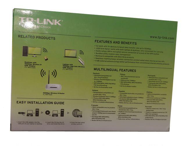 Adaptador WiFi USB High Gain Wireless Antena Exter