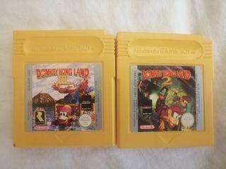 Donkey Kond Land 2 y 3 Game Boy