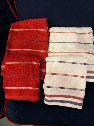 ---2---Juegos toallas baño y lavabo